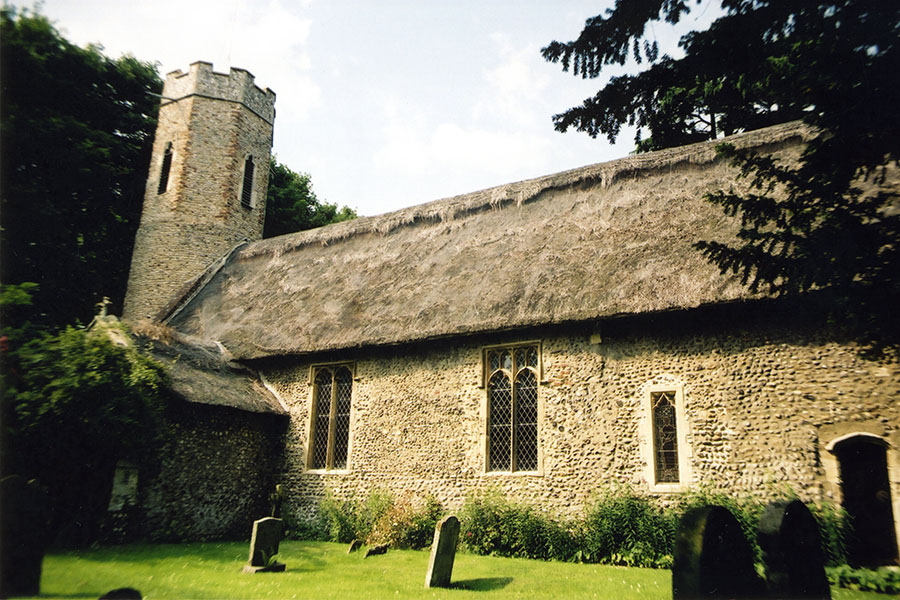 Thatched Church Roof