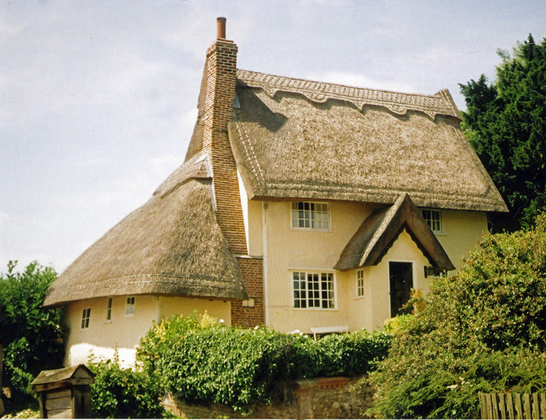 long straw thatch at kersey