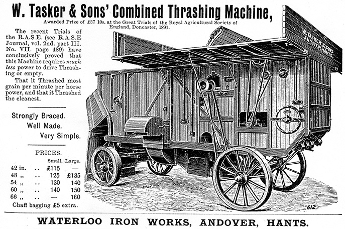 victorian thresher adert