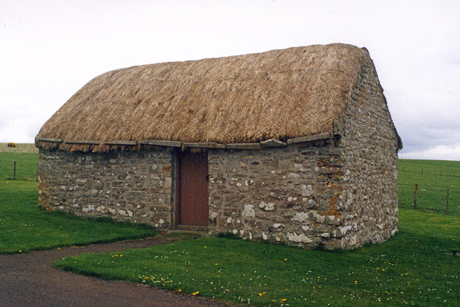 Rush Thatching Caithness
