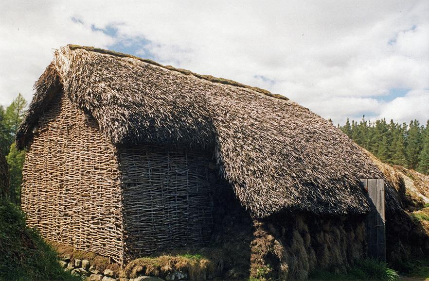 Braken Thatch Highland Folk Museum