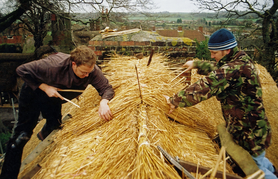 Thatching in Action