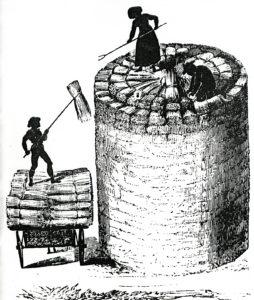 Rick building 1850