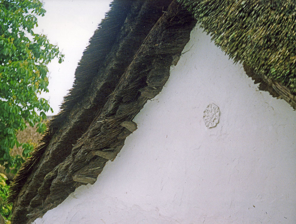 thatch gable Devon