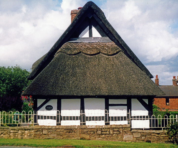 thatch at stowe by chartley staffordshire