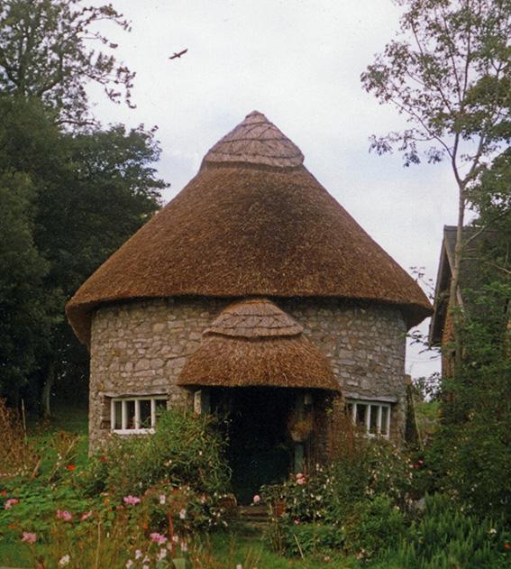 thatch at St Nicholas Glamorgan Wales