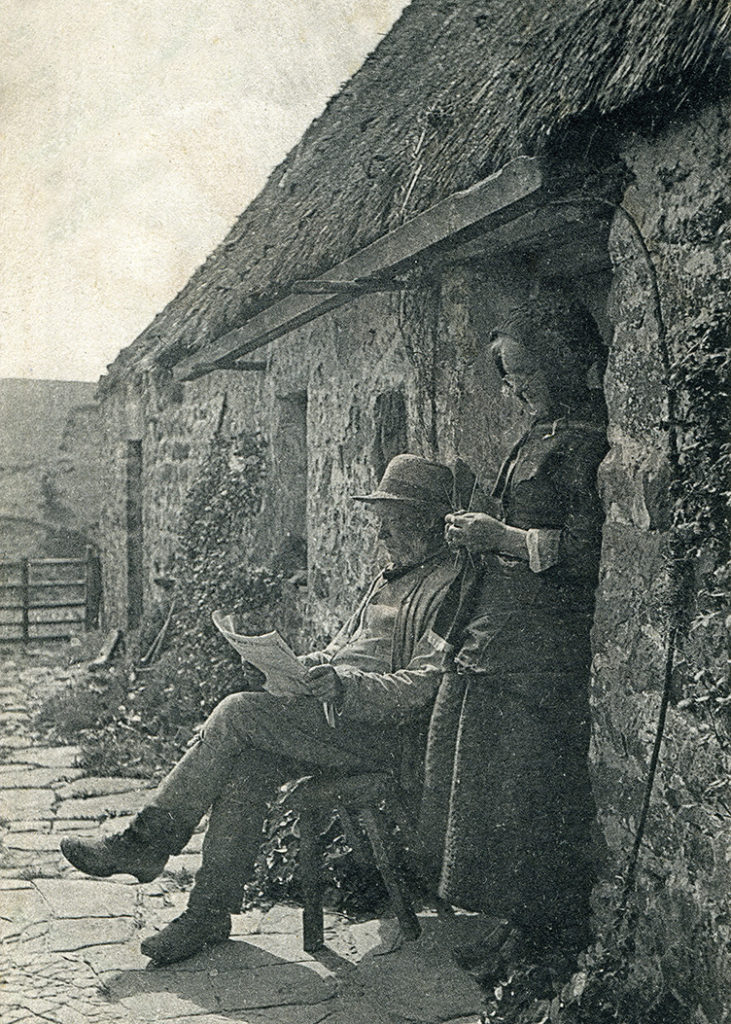 thatching northumbria