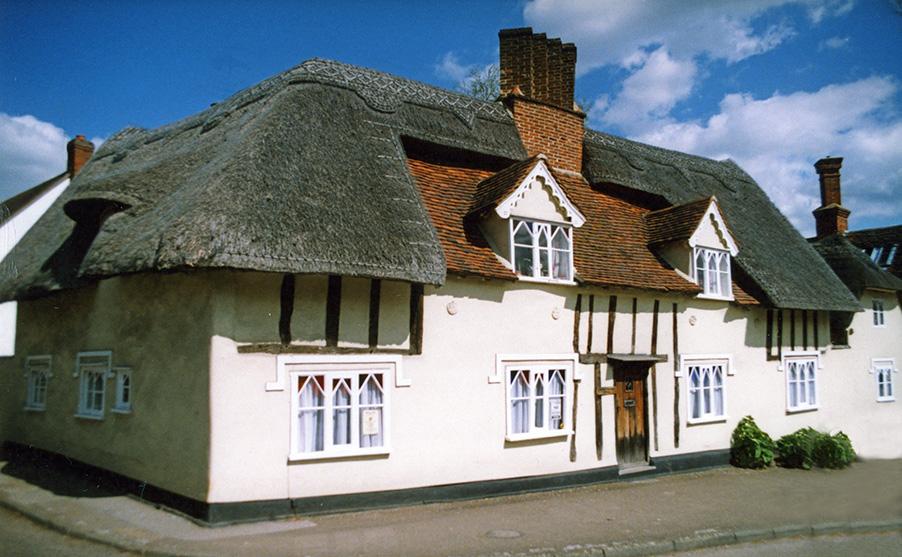 thatch at great bardfield essex