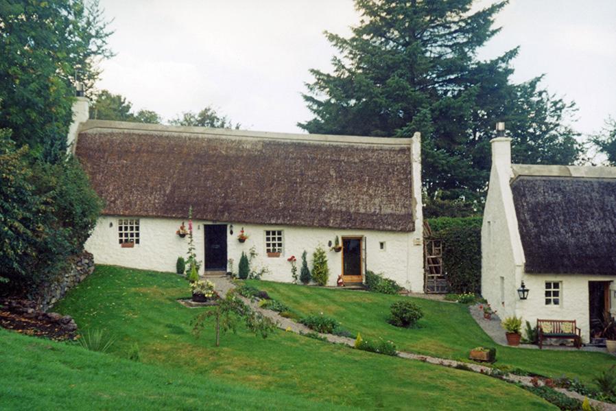 thatch swanston edinburgh scotland