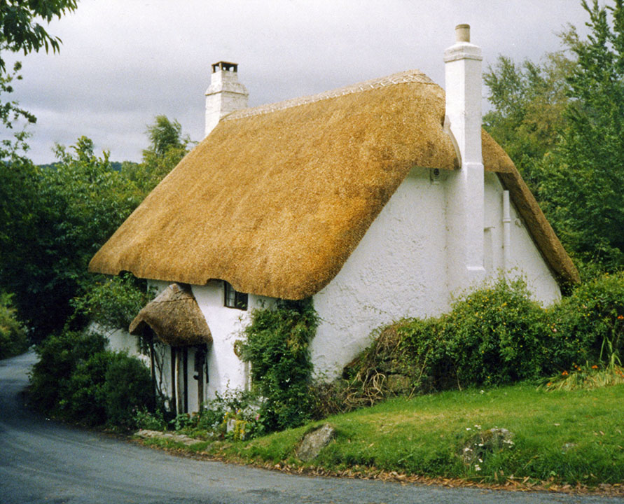 thatch at lustleigh devon