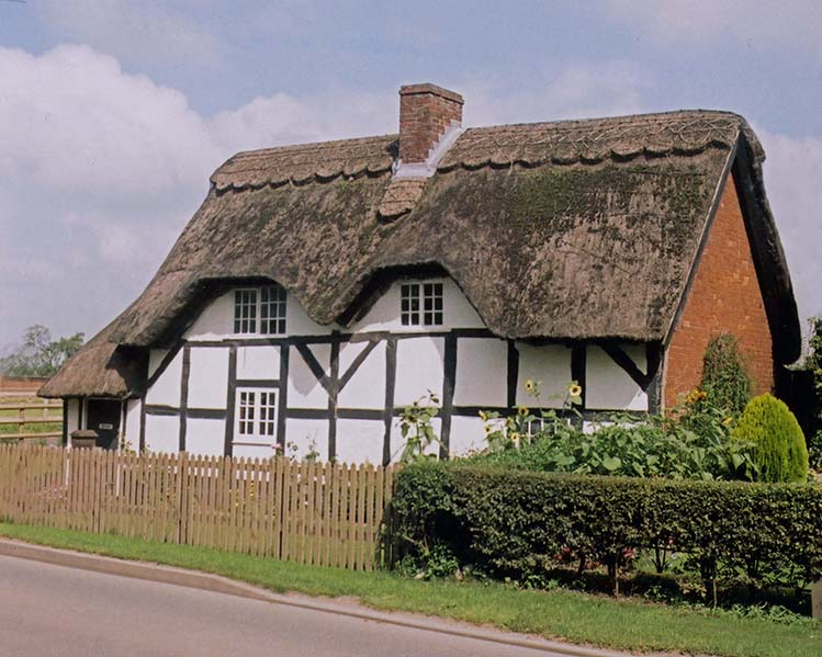 thatch staffordshire england