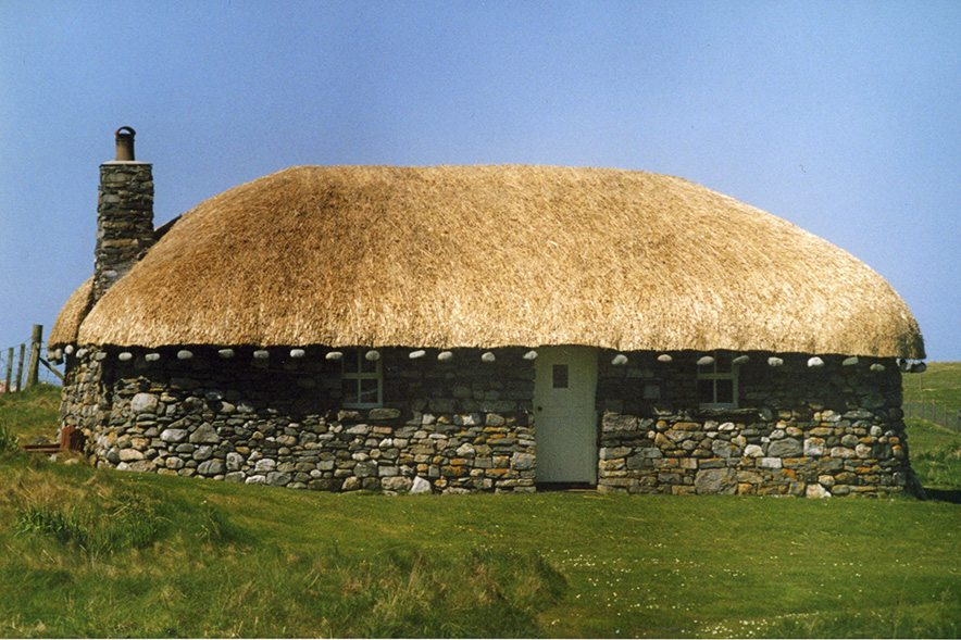 thatch ilse of harris scotland