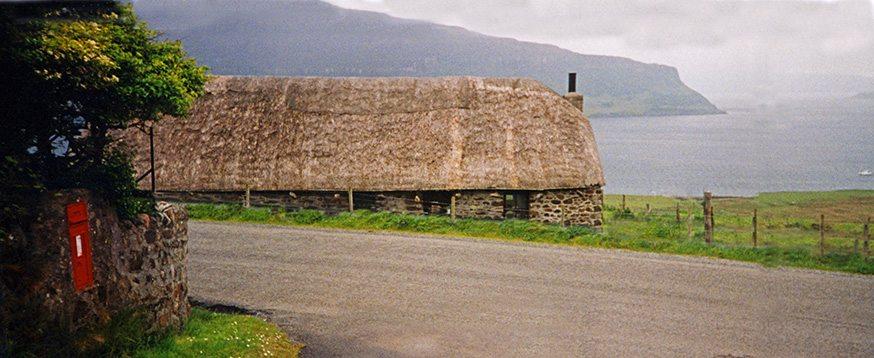 thatch isle of syke scotland