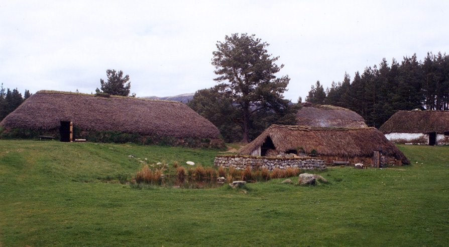 thatch highland folk museum scotland