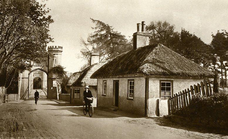 thatch moray scotland