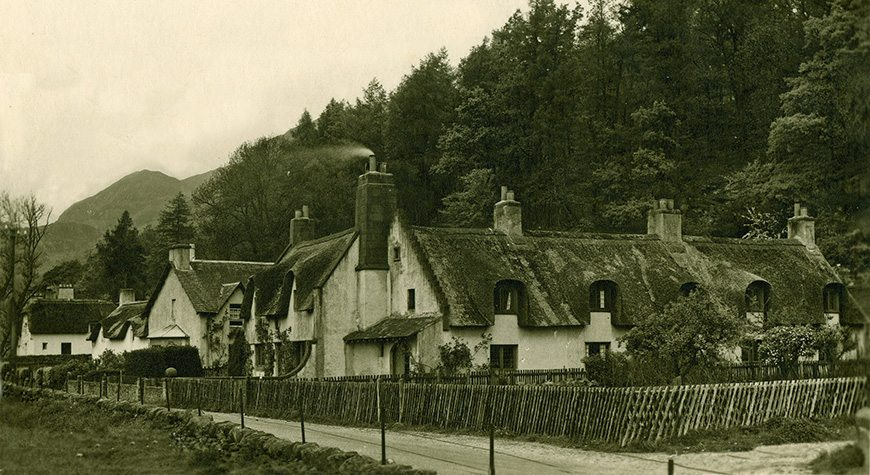 thatch fortingall scotland
