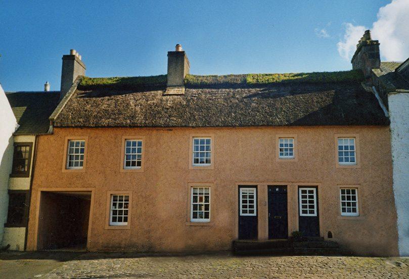 thatching fife scotland
