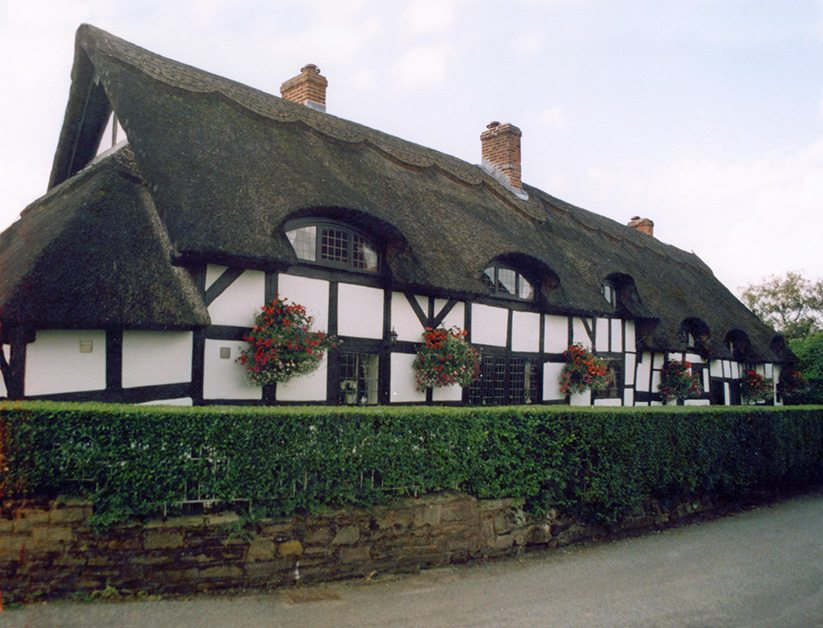 thatch staffordshire engaland
