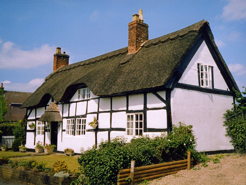 thatching staffordshire