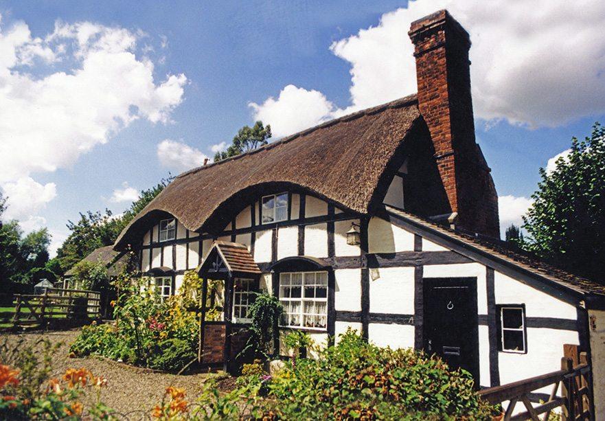 thatch shropshire england