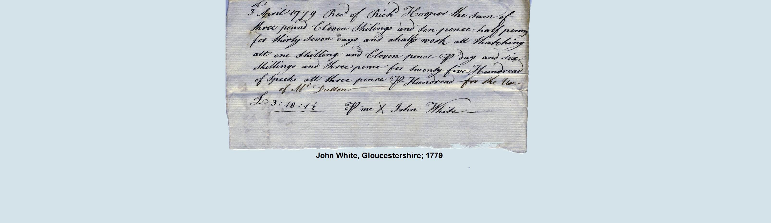 thatch bill 1796
