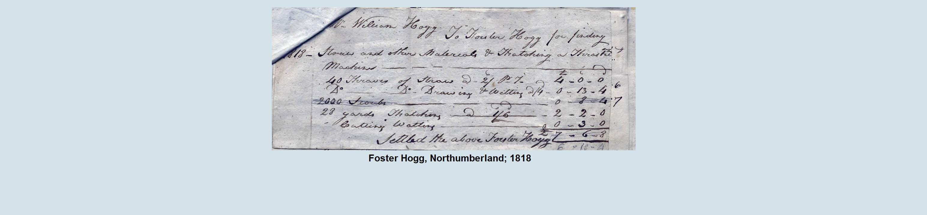 thatch invoice 1818