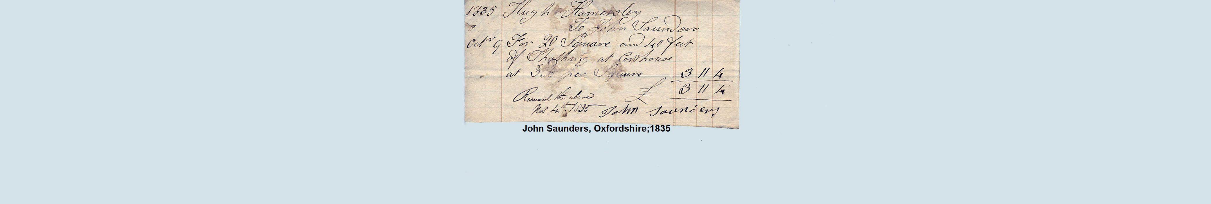 thatch oxford 1835