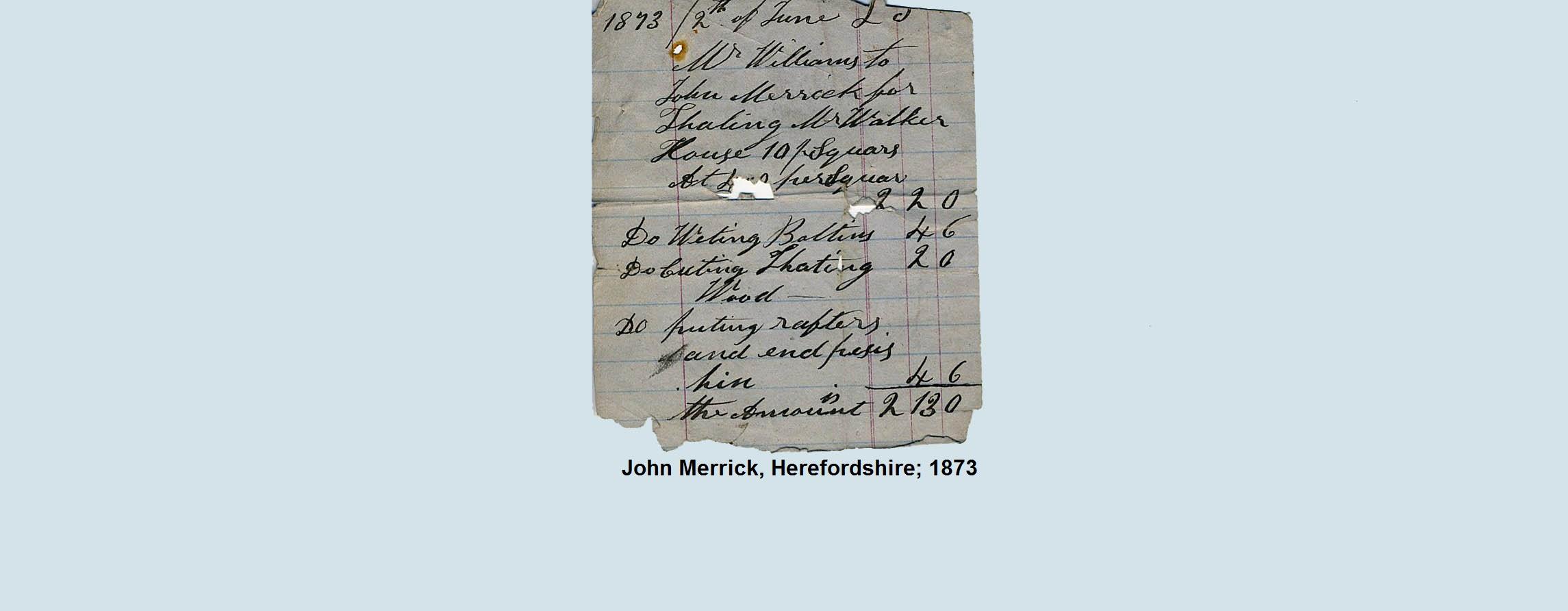 thatch bill 1873