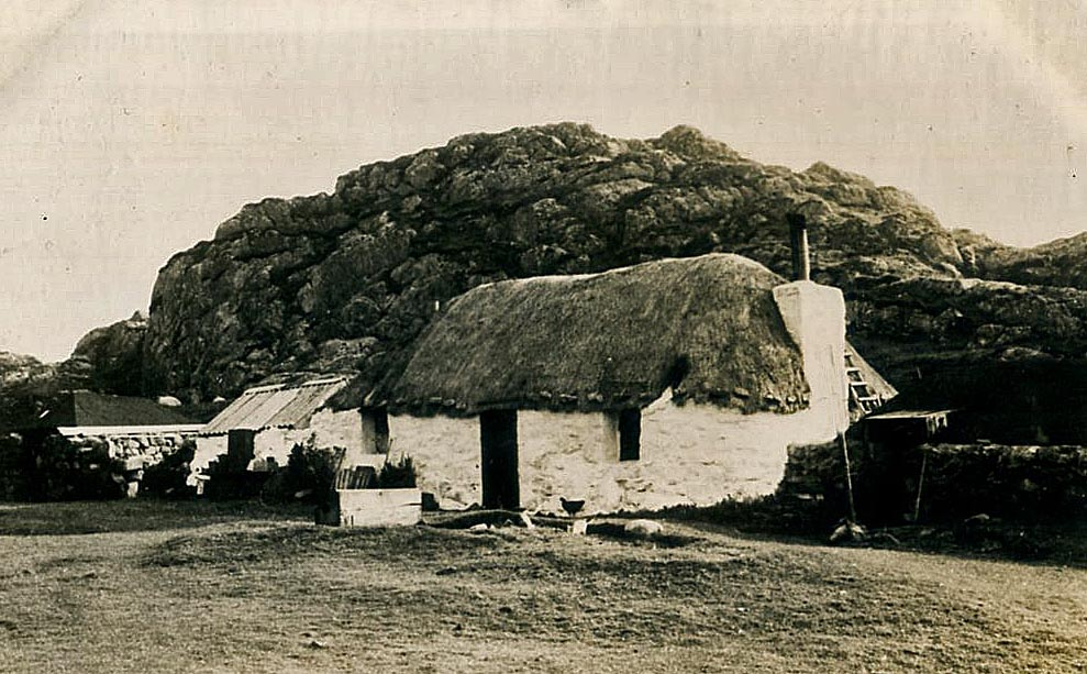 thatch coll hebrides scotland