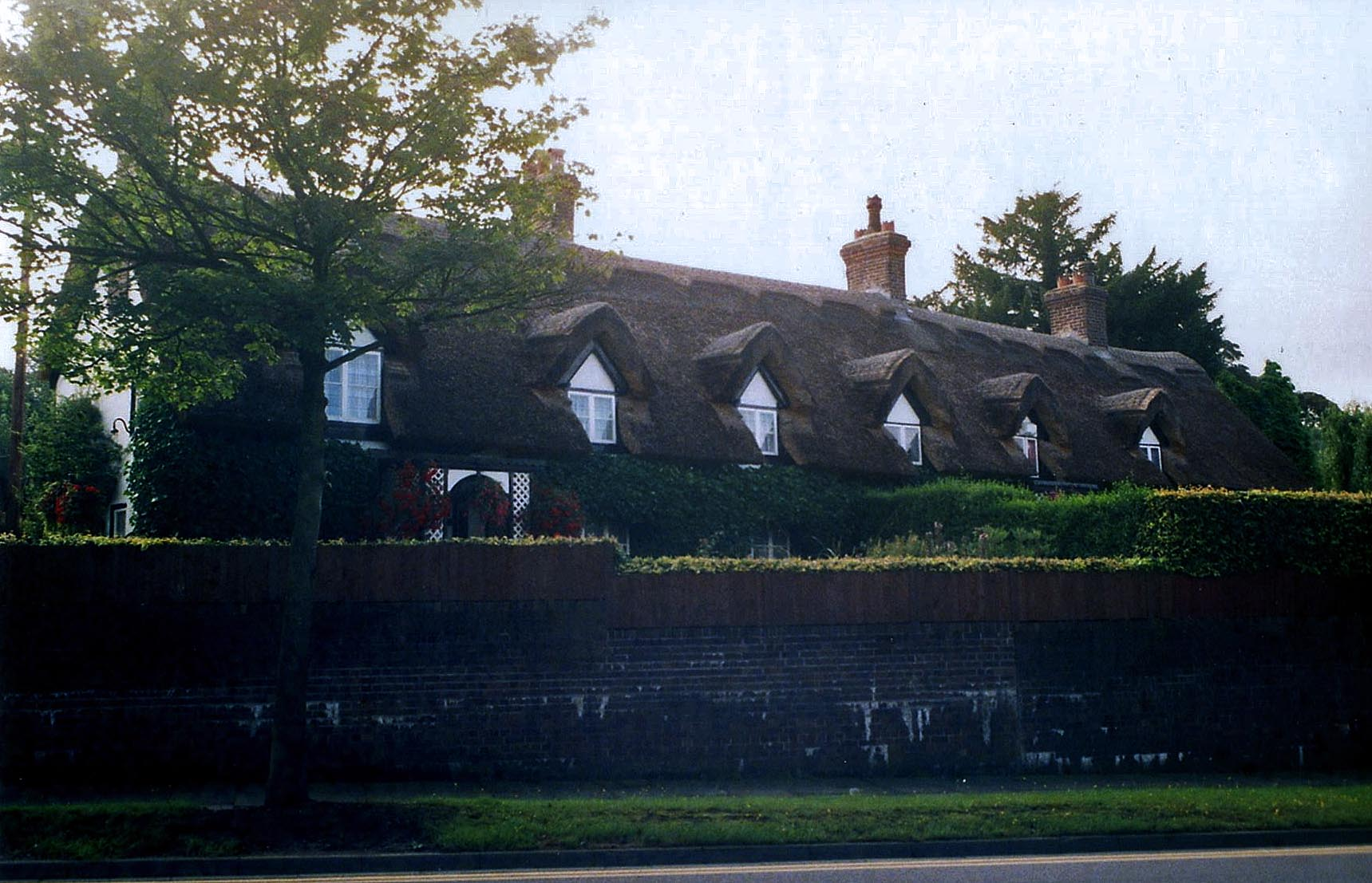 thatching stoke on trent england