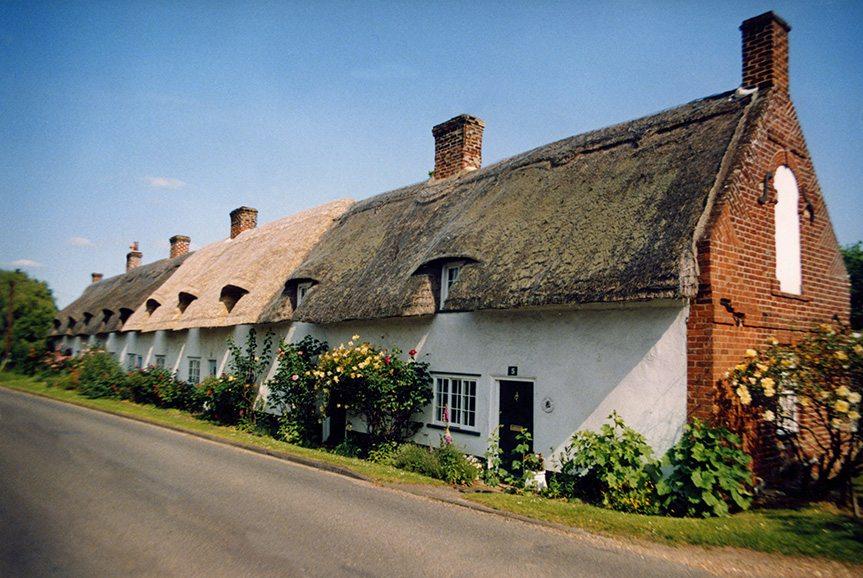 thatch cabridgeshire england