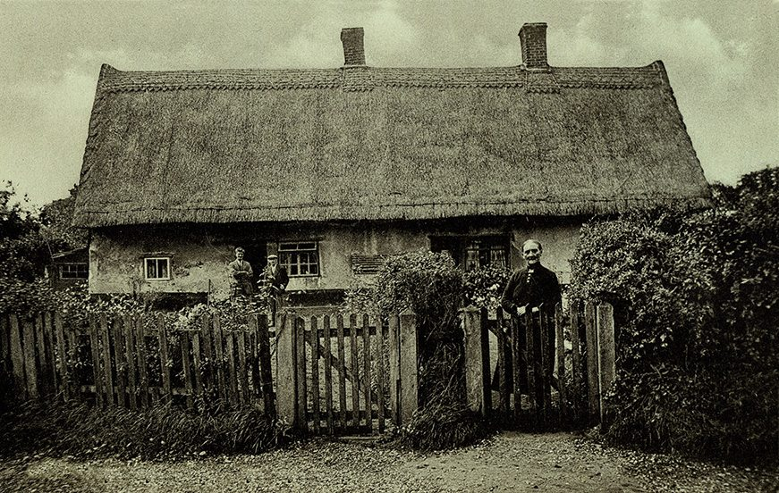 thatch suffolk england