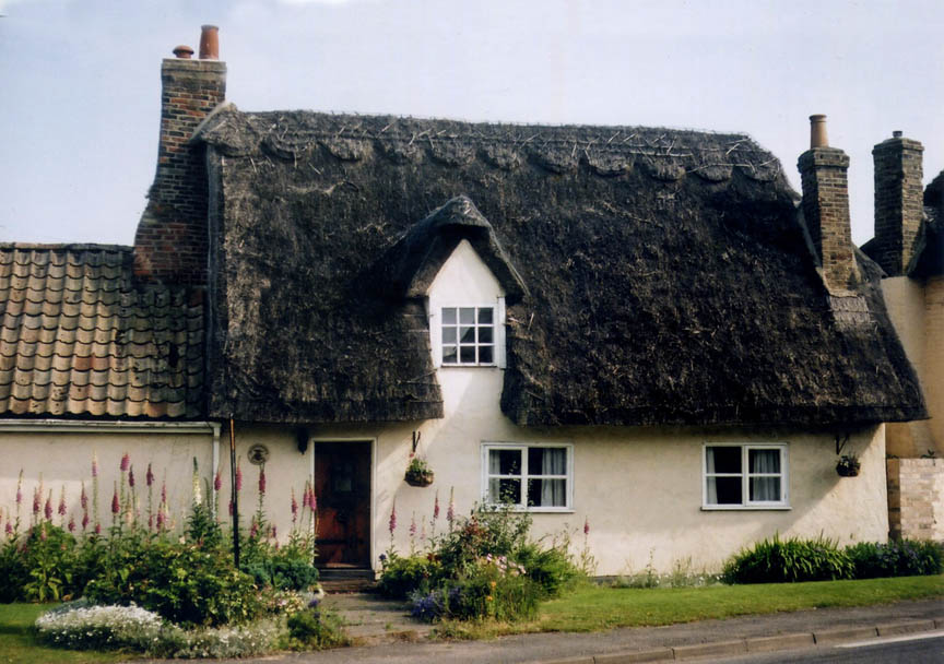 thatch huntingdonshire england