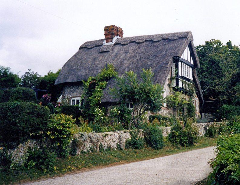 thatching england