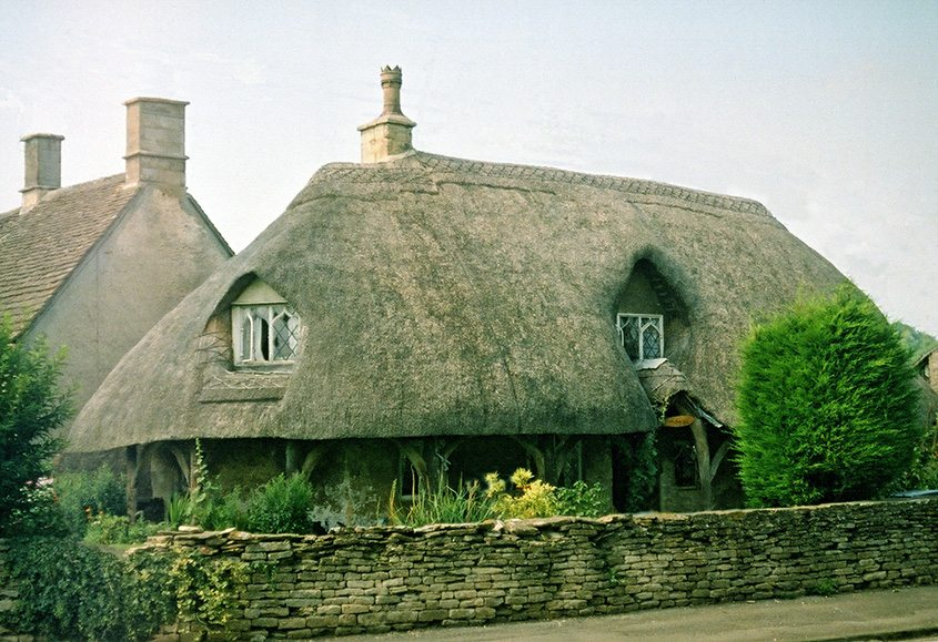 thatching england